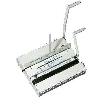 Mηχανες βιβλιοδεσιας - Μηχανή Συρμάτινου Διπλού Σπιράλ Bomco Super Combi 2:1 ΜΗΧΑΝΕΣ ΒΙΒΛΙΟΔΕΣΙΑΣ ΣΥΡΜΑΤΙΝΟΥ ΣΠΙΡΑΛ