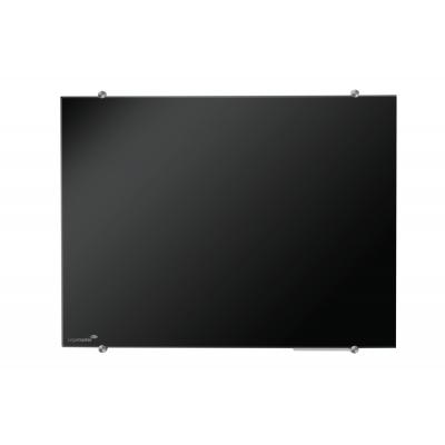 Πίνακες μαρκαδόρου - Πίνακας Legamaster Glassboard 90x120cm Black 104654 Πίνακες Μαγνητικοί Γυάλινοι (Glassboard)