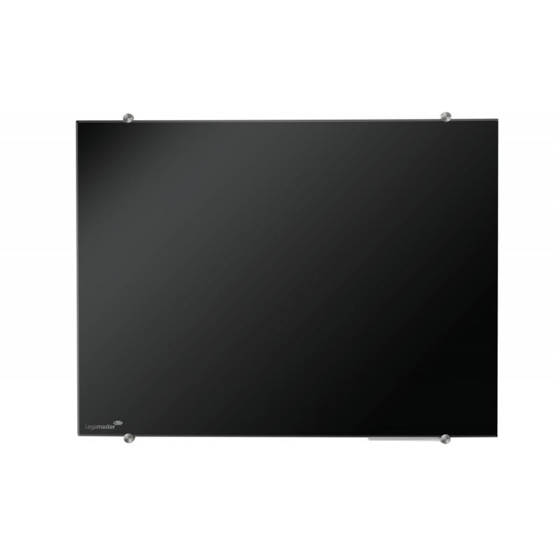 Πίνακες μαρκαδόρου - Πίνακας Legamaster Glassboard 100x150cm Black 104663 Πίνακες Μαγνητικοί Γυάλινοι (Glassboard)
