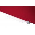 Πίνακες μαρκαδόρου - Πίνακας Legamaster Glassboard 90x120cm Red 104754 Πίνακες Μαγνητικοί Γυάλινοι (Glassboard)