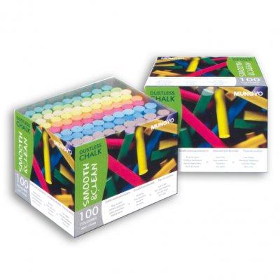 Κιμωλίες Χρωματιστές Dustless 100pcs Πίνακες Κιμωλίας Dimex.gr-Αναλώσιμα Υπολογιστών,Γραφική ύλη,Μηχανές Γραφείου