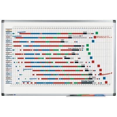 Πίνακες μαρκαδόρου - Πλανόγραμμα Legamaster Premium Ετήσιο 60x90cm Πίνακες Πλανογράμματα