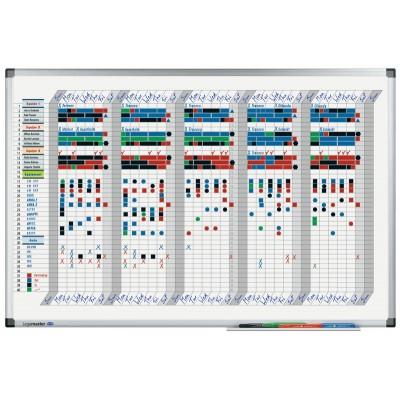Πίνακες μαρκαδόρου - Πλανόγραμμα Legamaster Premium Εβδομαδιαίο 60x90cm 413500 Πίνακες Πλανογράμματα