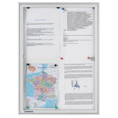 Βιτρίνα Ανακοινώσεων Legamaster Economy 46,1x63,5cm 631746 Πίνακες Βιτρίνες Ανακοινώσεων