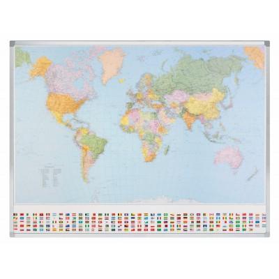 Πίνακες μαρκαδόρου - Πίνακας Μαγνητικός Professional Legamaster World 610000 Πίνακες Χάρτες Μαγνητικοί