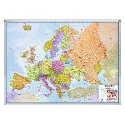 Πίνακες μαρκαδόρου - Πίνακας Μαγνητικός Professional Legamaster Europe 610100 Πίνακες Χάρτες Μαγνητικοί