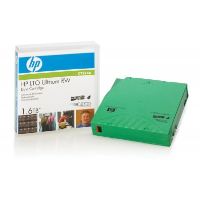 Tape HP LTO4 Ultrium RW 1.6TB C7974A DATA CARTRIDGES