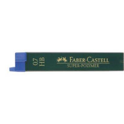 Μύτες Faber Castell 0.7 2B Μύτες Μηχανικών Μολυβιών