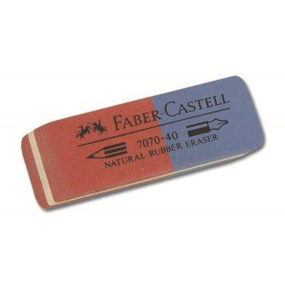 Γόμα Faber Castell 7070-40 Blue/Red Γόμες & Ξύστρες