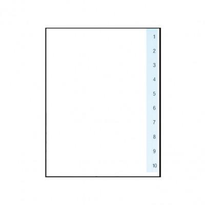 Διαχωριστικά Πλαστικά 1-10 Α4 (Αριθμητικά) ΔΙΑΧΩΡΙΣΤΙΚΑ