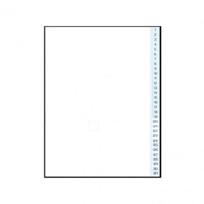 Διαχωριστικά Πλαστικά 1-31 Α4 (Αριθμητικά) ΔΙΑΧΩΡΙΣΤΙΚΑ