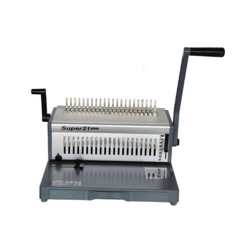 Mηχανες βιβλιοδεσιας - Μηχανή Σπιράλ Super 21 ΜΗΧΑΝΕΣ ΒΙΒΛΙΟΔΕΣΙΑΣ ΣΠΙΡΑΛ
