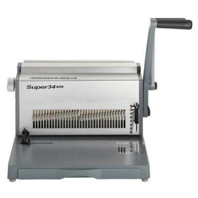 Mηχανες βιβλιοδεσιας - Μηχανή Συρμάτινου Διπλού Σπιράλ Super 34 ΜΗΧΑΝΕΣ ΒΙΒΛΙΟΔΕΣΙΑΣ ΣΠΙΡΑΛ