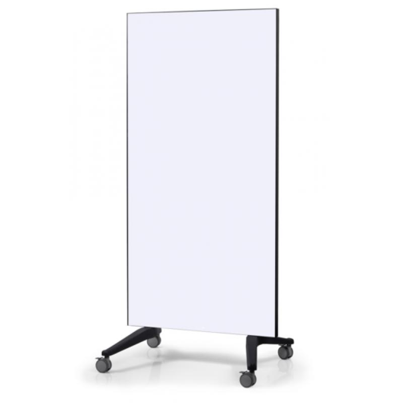 Πίνακες μαρκαδόρου - Πίνακας Τροχήλατος Legamaster Glassboard 90x175cm White 105100 Πίνακες Μαγνητικοί Γυάλινοι (Glassboard)