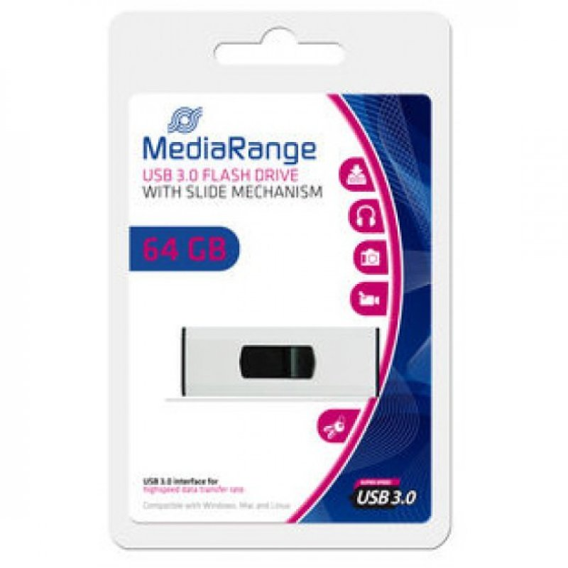 Memory USB MediaRange 3.0 64GB ΜΝΗΜΕΣ USB