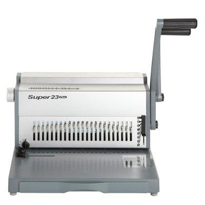 Μηχανή Συρμάτινου Διπλού Σπιράλ Super 23 PLUS ΜΗΧΑΝΕΣ ΒΙΒΛΙΟΔΕΣΙΑΣ ΣΥΡΜΑΤΙΝΟΥ ΣΠΙΡΑΛ Dimex.gr-Αναλώσιμα Υπολογιστών,Γραφική ύλη,Μηχανές Γραφείου